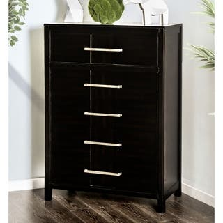 Furniture of America Telke Contemporary Wood 5-drawer Chest|https://ak1.ostkcdn.com/images/products/18091283/P24249802.jpg?impolicy=medium