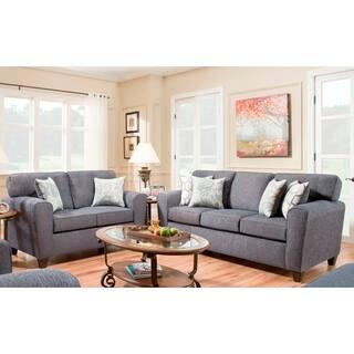 denim living room furniture. SofaTrendz Ella Denim Sofa  Loveseat Set Living Room Furniture Shop The Best Deals for Nov 2017