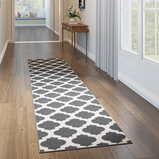 Porch & Den Harvard Moroccan Trellis Indoor/ Outdoor Area Rug