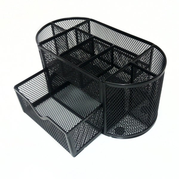 Shop Majestic Goods Mesh Desk Organizer Caddy for Office Supplies ...
