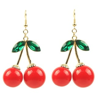 Eye Candy LA Cherry Bomb Fashion Earring