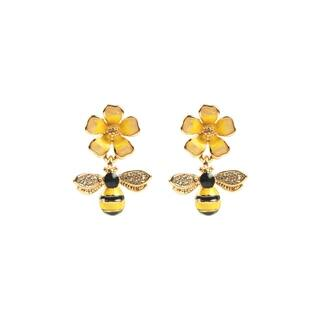 Eye Candy LA Honeybee Fashion Earring|https://ak1.ostkcdn.com/images/products/18091730/P24250162.jpg?impolicy=medium