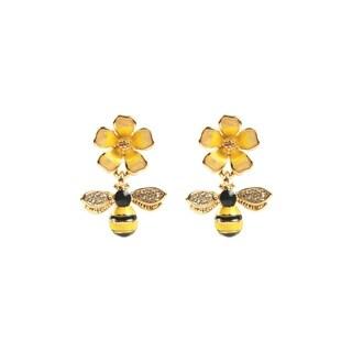 Eye Candy LA Honeybee Fashion Earring