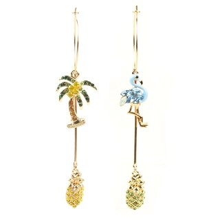 Eye Candy LA Summer Vacay Fashion Statement Earring