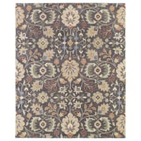 Hand-Tufted Christopher Pewter  Wool Rug - 12' x 15'