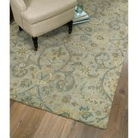 Hand-Tufted Christopher Silver Wool Rug - 12' x 15'
