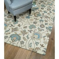 Hand-Tufted Christopher Beige Wool Rug - 12' x 15'