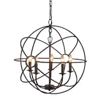 Yosemite Home Decor Shooting Star Collection Five-light Mini Chandelier