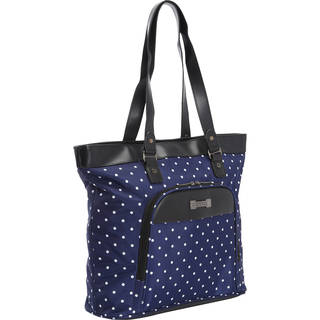 Kenneth Cole Reaction 'Dot Matrix' Polka Dot Printed Top Zip 15.6-inch Laptop Tote Bag