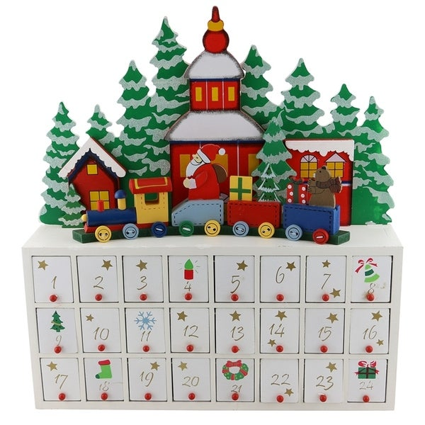 shop advent calendar wooden free shipping today. Black Bedroom Furniture Sets. Home Design Ideas