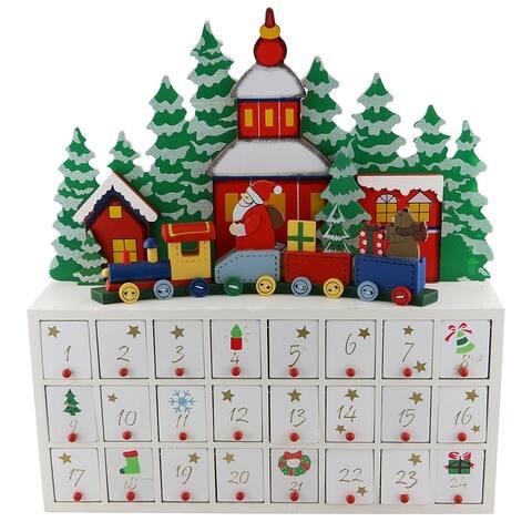 Advent Calendar, Wooden