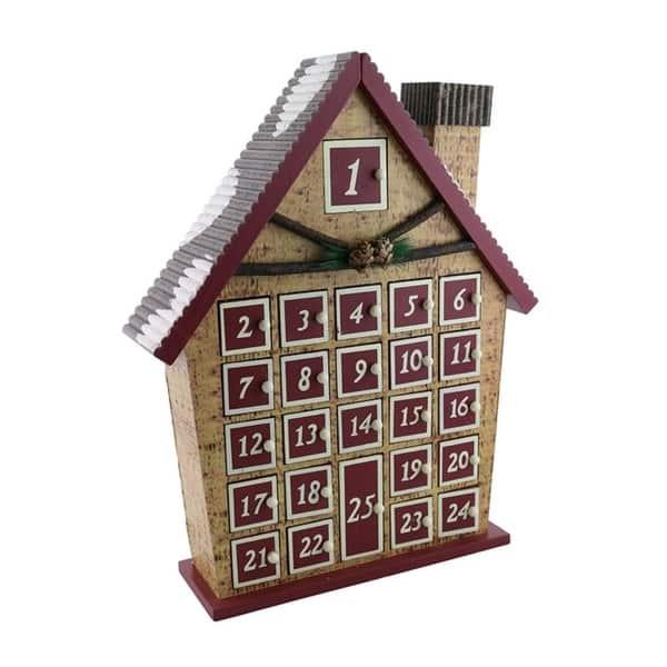 Advent Calendar Wooden