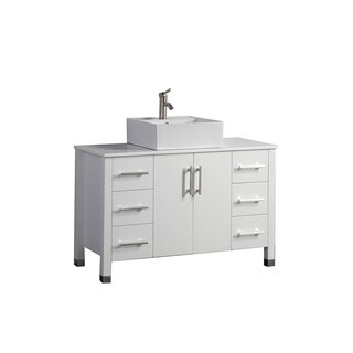 Asti 48-inch Single Sink Modern Bathroom Vanity