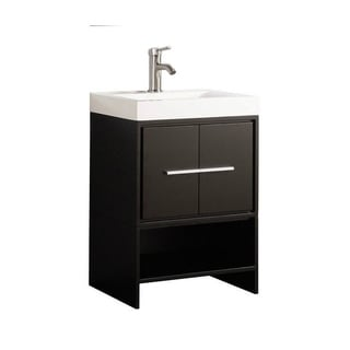 Clermont 24-inch Single Sink Modern Bathroom Vanity