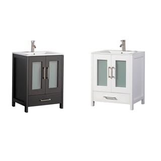 Arezzo 30-inch Single Sink Modern Bathroom Vanity