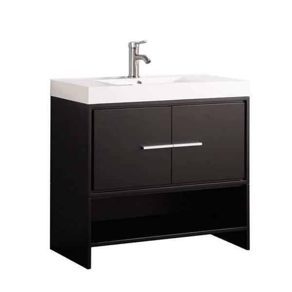 Single Sink Modern Bathroom Vanity