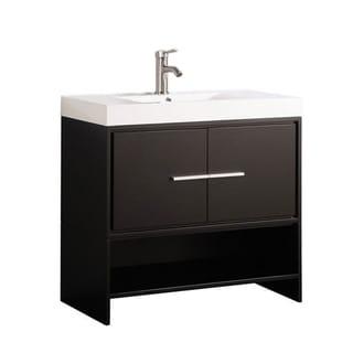 Clermont 36-inch Single Sink Modern Bathroom Vanity