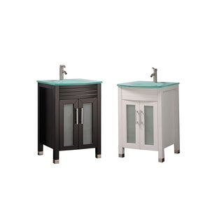 Fort 24-inch Single Sink Modern Bathroom Vanity