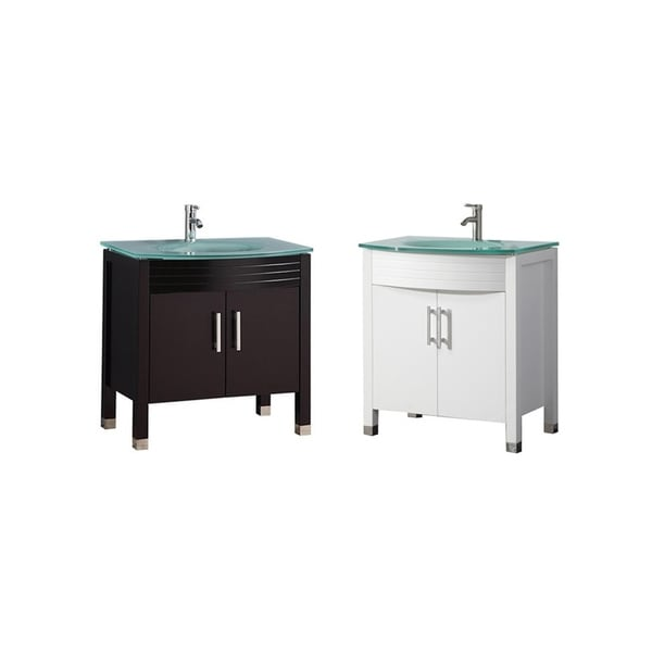 """Fort 32"""" Single Sink Modern Bathroom Vanity"""