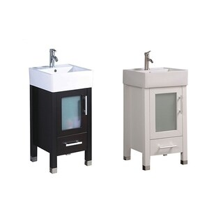 "Mesina 18"" Single Sink Modern Bathroom Vanity"