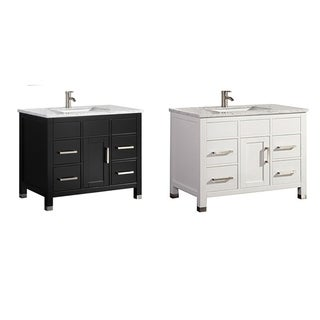 "Reisa 36"" Single Sink Modern Bathroom Vanity"