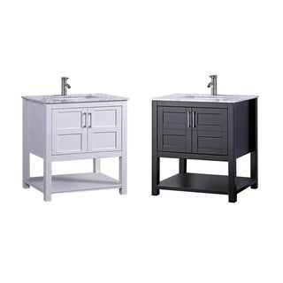Nord 30-inch Single Sink Modern Bathroom Vanity