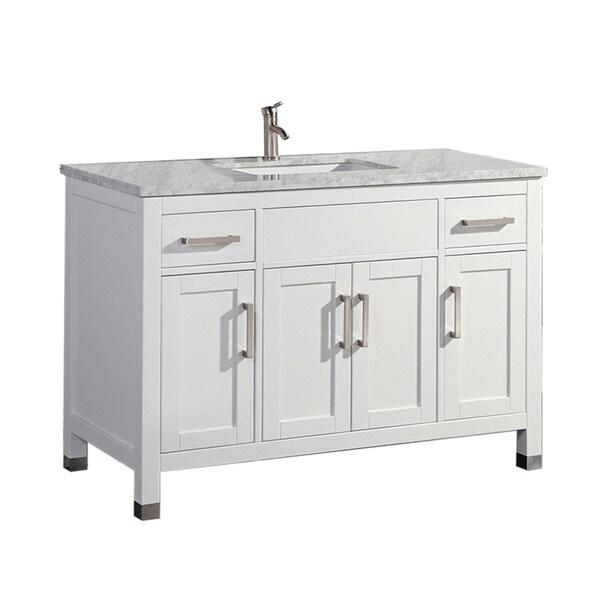 Reisa 60-inch Single Sink Modern Bathroom Vanity