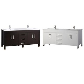 Moselle 60-inch Double Sink Modern Bathroom Vanity