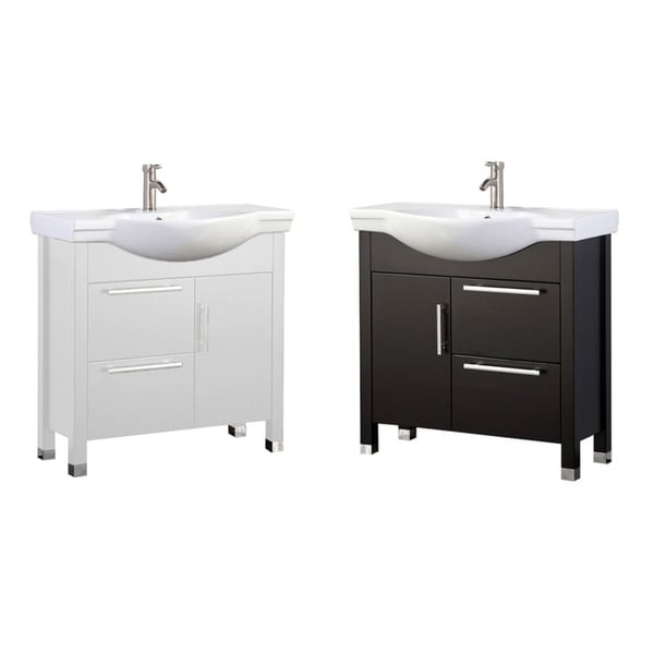 Pau 36-inch Single Sink Modern Bathroom Vanity