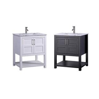 Nord 24-inch Single Sink Modern Bathroom Vanity