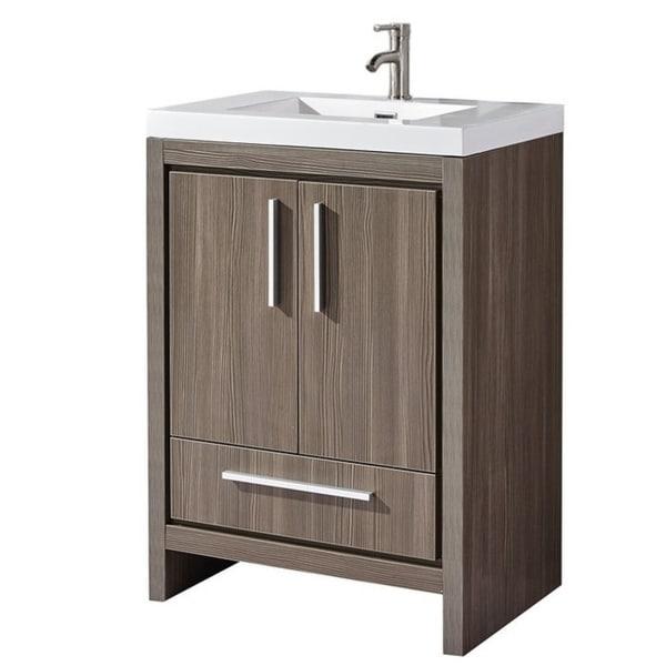 Shop Miami 48 Single Sink Modern Bathroom Vanity Black Walnut Fascinating Miami Contemporary Furniture Remodelling