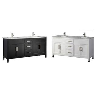 Reisa 60-inch Double Sink Modern Bathroom Vanity