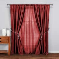 Duck River Marvella 5Pc Set Pole Top Curtain Panel