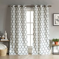 Duck River Mason Linen Look Curtain Panel Pair