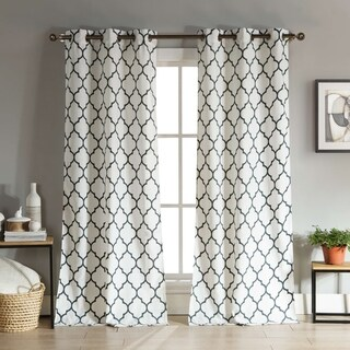 Duck River Mason Linen Look Curtain Panel Pair (5 options available)
