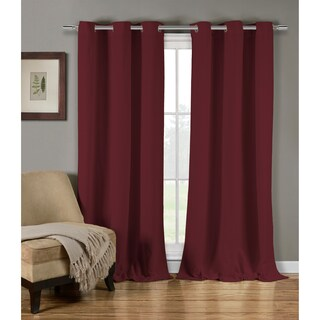 """Duck River Mildred Crushed Curtain Panel Pair - 38x84"""""""