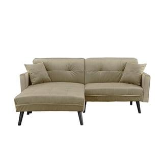 brush midcentury futon sofa bed