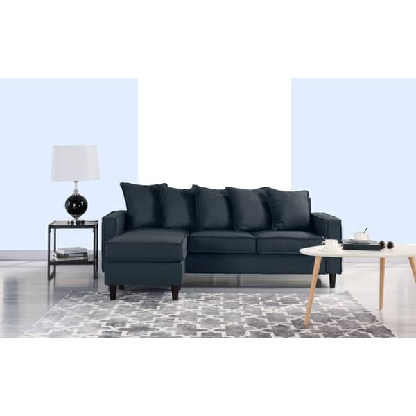 Shop Modern Sectional Sofa, Small Space Configurable Couch ...