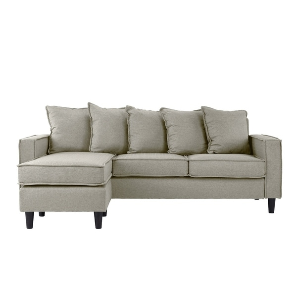 Modern Sectional Sofa, Small Space Configurable Couch