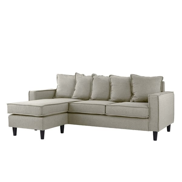 Astounding Shop Modern Sectional Sofa Small Space Configurable Couch Ncnpc Chair Design For Home Ncnpcorg