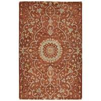 Ashton Brick Wool Hand-tufted Rug (10' x 14')