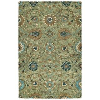 Hand-Tufted Ashton Sage Wool Rug - 10' x 14'