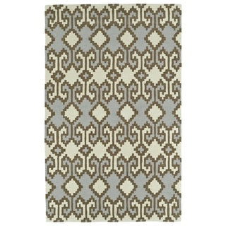 Bombay Home Copal Ivory Wool Hand-tufted Rug (9' x 12')