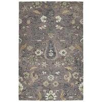 Hand-Tufted Ashton Lilac Wool Rug - 9' x 12'
