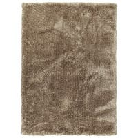 Hand-Tufted Silky Shag Chino Polyester Rug - 9' x 12'