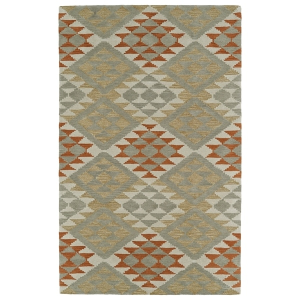 Hand-Tufted Copal Paprika Wool Rug - 9' x 12'
