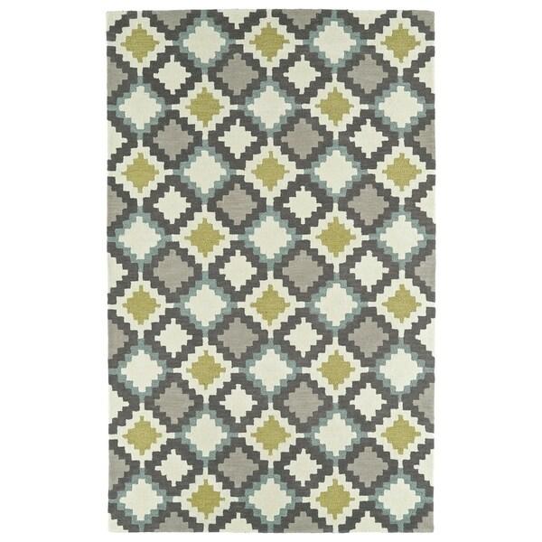 Hand-Tufted Copal Ivory Wool Rug - 9' x 12'