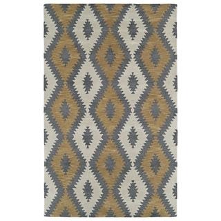 Hand-Tufted Copal Camel Wool Rug - 9' x 12'