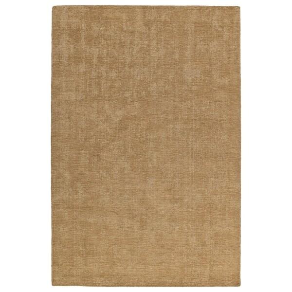 Indoor/Outdoor Handmade Tula Sand Polyester Rug - 9' x 12'