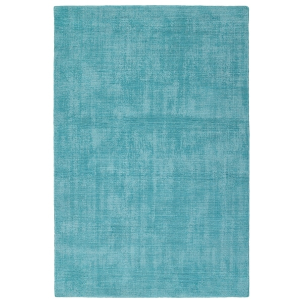 Indoor/Outdoor Handmade Tula Spa Polyester Rug - 9' x 12'
